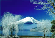 Winter Mount Fuji